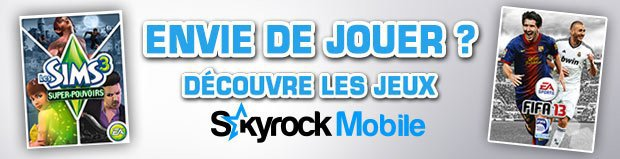 Envie de jeux pour ton mobile ?